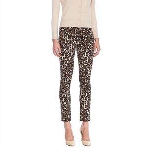 Kate Spade ♠️ leopard print pants size 26 ❤️